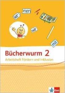 Bücherwurm Sprachbuch. Arbeitsheft Inklusiv Fördern 2. Schuljahr