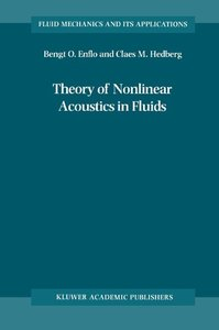 Theory of Nonlinear Acoustics in Fluids