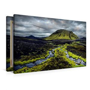 Premium Textil-Leinwand 90 cm x 60 cm quer New Life