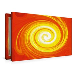 Premium Textil-Leinwand 90 cm x 60 cm quer Energie