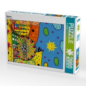Bremen 2000 Teile Puzzle hoch