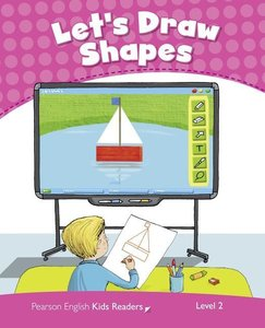 Penguin Kids 2 Let's Draw Shapes Reader CLIL AmE