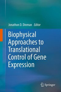 Biophysical approaches to translational control of gene expressi