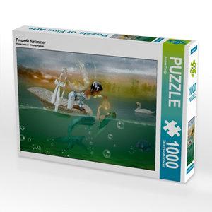 Freunde für immer 1000 Teile Puzzle quer