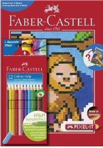 Colour GRIP 12er Etui + Pixel-it Buch
