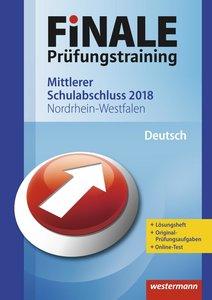 FiNALE Prüfungstraining Mittlerer Schulabschluss Nordrhein-Westf
