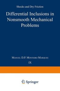 Differential Inclusions in Nonsmooth Mechanical Problems