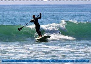 Stehpaddeln - Der neue Wassersport (Wandkalender 2020 DIN A2 que