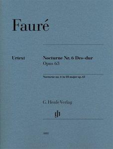 Nocturne Nr. 6 Des-dur Opus 63