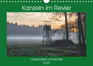 Kanzeln im Revier (Wandkalender 2020 DIN A4 quer)