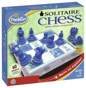 Ravensburger 76325 - ThinkFun®, Solitaire Chess, Konzentrationss
