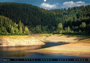 Flüsse und Seen im Harz (Wandkalender 2019 DIN A2 quer)