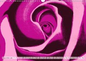 Rosenpower (Wandkalender 2020 DIN A3 quer)