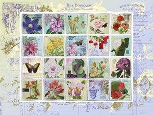 Nostalgie-Briefmarken. Puzzle 1.000 Teile