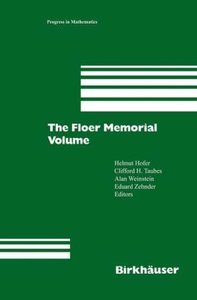 The Floer Memorial Volume