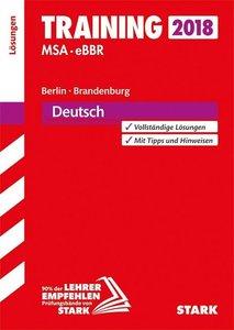 Training Mittlerer Schulabschluss Berlin/Brandenburg 2018 - Deut