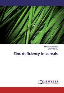 Zinc deficiency in cereals