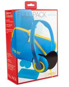 Switch-L Full Pack, Zubehörset mit Etui, Headset, Schutzfolie, X