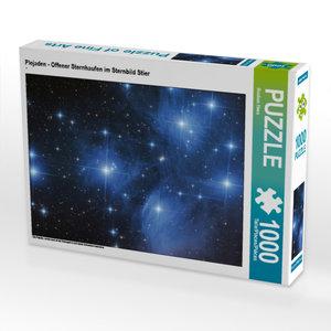 CALVENDO Puzzle Plejaden - Offener Sternhaufen im Sternbild Stie