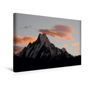 Premium Textil-Leinwand 45 cm x 30 cm quer Der heilige Berg Mach