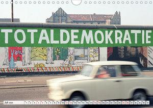 30 Jahre Mauerfall Berlin (Wandkalender 2020 DIN A4 quer)