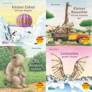 Maxi-Pixi-Serie Nr. 55: 4er Bundle: Tiergeschichten von Hans de