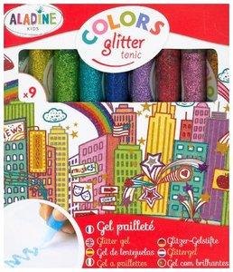9 Glitter-Glue Stifte Tonic