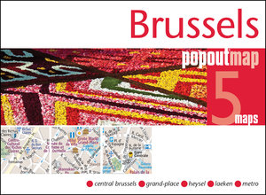 Popout Map Brussels