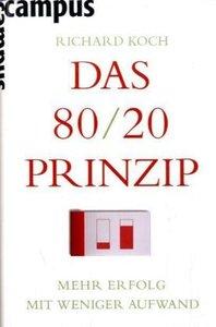 Koch, R: 80/20 Prinzip