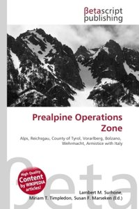 Prealpine Operations Zone