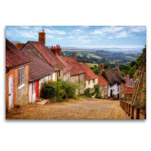 Premium Textil-Leinwand 120 cm x 80 cm quer Shaftesbury