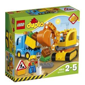 Lego 10812 Duplo-Bagger & Lastwagen