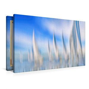 Premium Textil-Leinwand 90 cm x 60 cm quer Verfolgerfeld
