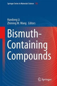 Bismuth-Containing Compounds