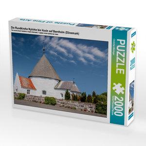 Die Rundkirche Nykirke bie Hasle auf Bornholm (Dänemark) 2000 Te