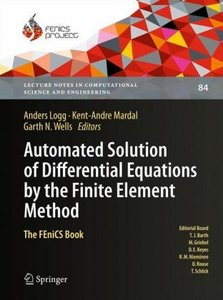 Automated Solution of Differential Equations by the Finite Eleme