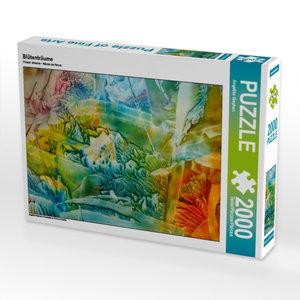 Blütenträume 2000 Teile Puzzle quer