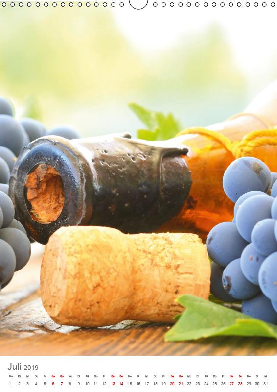 Weinjahr (Wandkalender 2019 DIN A3 hoch) - zum Schließen ins Bild klicken