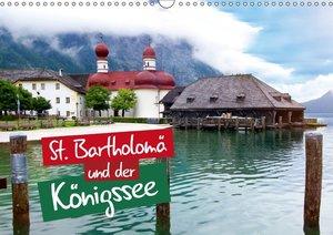 St. Bartholomä und der Königssee