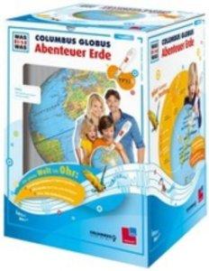 WAS IST WAS Columbus-Globus. Abenteuer Erde. TING-Starterset ohn