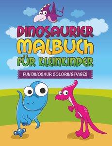 Dinosaurier Malbuch für Kleinkinder Fun Dinosaur Coloring Pages