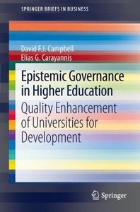 Epistemic Governance in Higher Education