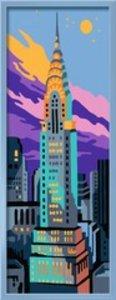 Ravensburger 284474 - Chrysler Building - Malen nach Zahlen, tre