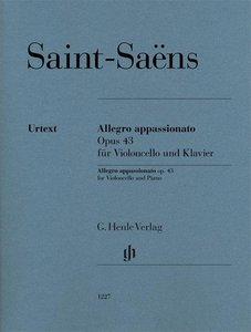 Allegro appassionato op. 43 für Violoncello und Klavier