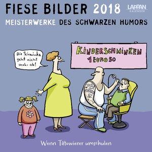 Fiese Bilder 2018 Postkartenkalender