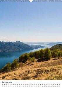 Lago Maggiore - Das Westufer (Wandkalender 2019 DIN A3 hoch)