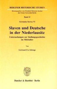 Slaven und Deutsche in der Niederlausitz