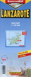 Lanzarote 1:100 000