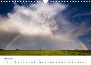 Faszination Gewitter (Wandkalender 2019 DIN A4 quer)