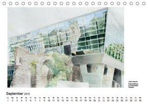 Pinselspuren einer Deutschlandreise - 12 Aquarelle von Dieter Kl